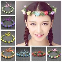 Fashion Women Lady Girl Rose Flower Headband Hair Accessories Garland Hairband