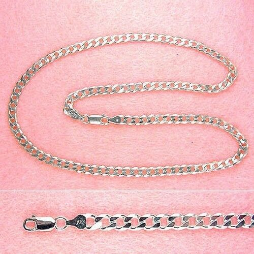 Sterling Silver 30 Inch 5mm Curb Chain CH014L30