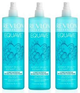 Revlon Equave 2 Phase dry Conditioner trockenes Haar 3x500ml=1500ml