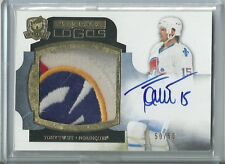 Tony Twist 11/12 UD The Cup 5 Color Limited Logos Patch Autograph /50