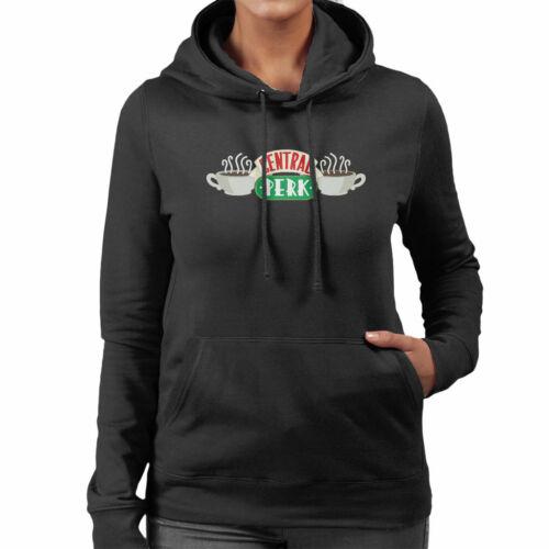 Friends Central Perk Logo Women/'s Hooded Sweatshirt