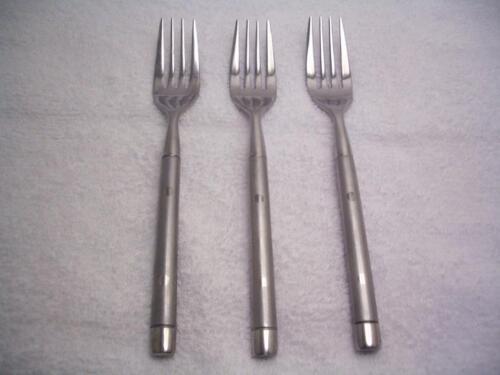"Cambridge TRIPOLI II SAND Set of 3 Salad Forks 6 7//8/"" Stainless Flatware"