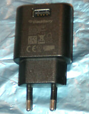 Genuine BlackBerry EU Charger Head ASY-44303 for ANY USB Data Cable + 24 Hr Post