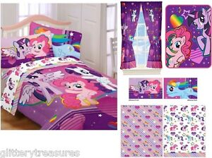 Image Is Loading KIDS GIRLS HASBRO MY LITTLE PONY BEDDING BED