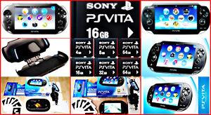 Sony-PSVITA-selezione-3g-amp-Wifi-amp-Slim-Console-OVP-PS-VITA-codec-Selezione