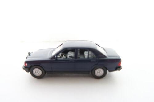 Wiking ho//1:87 145//2 C MB 190 E W 201 Nachtblau 1984 cv//02-2s6//81