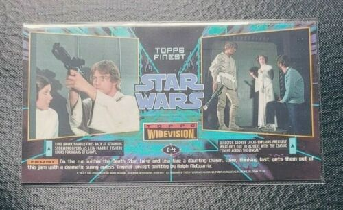 Details about  /1995 Topps Star Wars Widevision Pick your Card base sets and inserts
