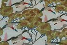 Mulberry FD205K47 Home Flying Ducks Fabric