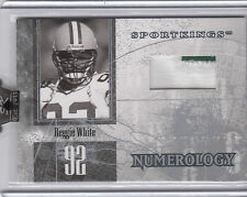 2008 Sportkings Series B Numerology Reggie White Game-Used Patch #d 7/9 Packers