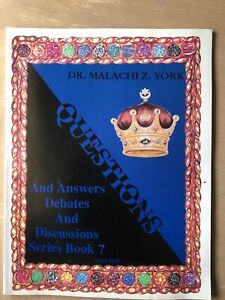 Dr malachi z york books