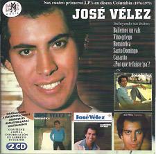 RARE 70s 80'S 2CDs+booklet JOSE VELEZ 1976-1979 ROMANTICA bailemos vals SEGUIMOS