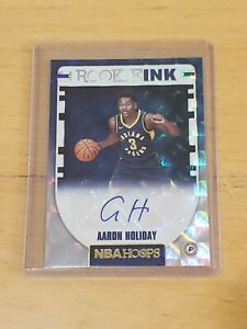 AARON-HOLIDAY-2018-Hoops-Rookie-Ink-RC-AUTO-Autograph