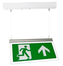 Emergency Lights - Maintained LED Hanging Exit Box Sign Light HTLED