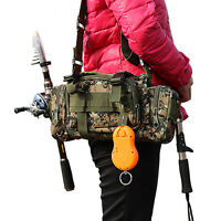 Fishing Lure Bag Waist Pack Handbag Shoulder Bag Fishing Tackle Box Storage