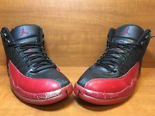 "the best attitude afcfd fa664 item 3 Nike Air Jordan 12 XII Retro ""Flu Game"" Black Varsity Red BRED 130690-002  Sz 10 -Nike Air Jordan 12 XII Retro ""Flu Game"" Black Varsity Red BRED ..."