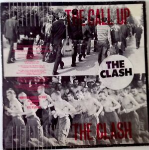 The-Clash-7-034-unplayed-1980-7-034-Vinyl-The-Call-Up-UK-CBS-9339