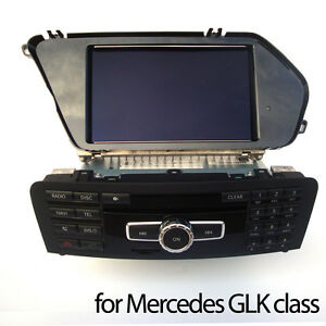 comand aps x204 ntg 4 5 per mercedes classe glk autoradio gps monitor ebay. Black Bedroom Furniture Sets. Home Design Ideas