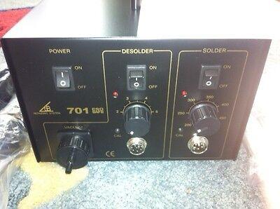 1 New Top Quality Solder/desolder/vacuum 3 In 1 Rework Station Aoyue A701 Welding & Soldering Equipment