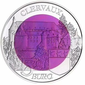 image is loading 2016 luxembourg 5 euro silver amp niobium bu - Violet Castle 2016