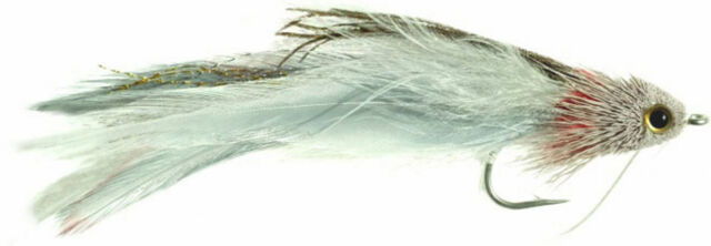 Fly Fishing Flies Zoo Cougar Black x 6 Bass, Trout, Salmon, Redfish, Snook