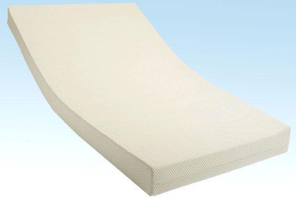 Comfort Rollmatratze Schaumstoff Bezug Coolmax 120 x 220 x 10cm Härtegrad 2