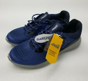 Brand-New-Avia-Mens-Shoes-Breathable-Enduropro-Blue-Laces-Gray-Bottom-Comfort