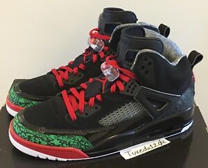 reputable site 60960 0849a Image is loading DS-Nike-Air-Jordan-Spizike-sz10-5-Black-