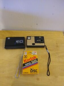 Kodak-Disc-6000-and-Disc-3100-with-BRAND-NEW-FILM