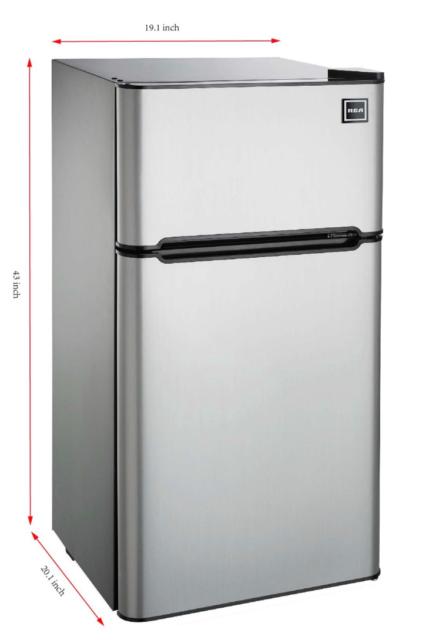 4 5 Cu Mini Fridge Compact Refrigerator