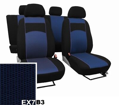 VAUXHALL VIVARO 2015-16 17-18-2019 2020 ARTIFICIAL LEATHER TAILORED SEAT COVERS