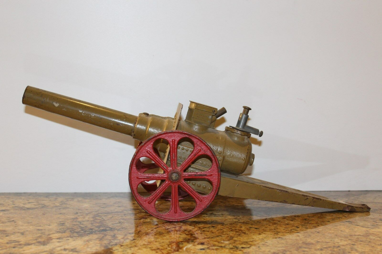 Vintage Big Bang Toy Cannon No.10 CC  17  Long. Nice One