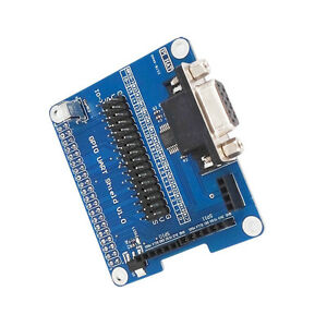 GPIO UART Raspberry Pi 3B//2B//B Expansion Board Module 40 Pin//2SPI//1I2C//RS232