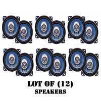 Lot Of (12) Pyle Pl42bl 4-inch 180-watt Two-way Speakers on sale