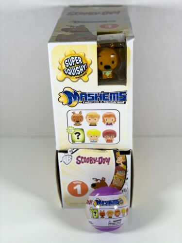 Scooby Doo Mashems Series 1 Lot of 15 Blind Packs With Retail Box