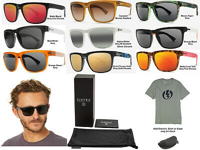 NEW Electric Knoxville Melanin Ohm Lens Mens Square Sunglasses Msrp$100