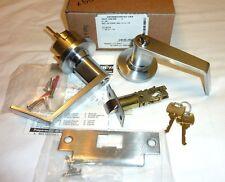 Falcon Y521P6 HAN 605 Hana Entry//Office Lock Knobset Knob /& Keys POL BRASS 2RE86