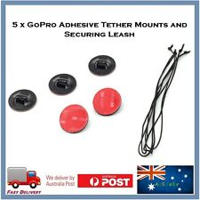 5 X Surf Adhesive TETHER Mounts & Leashes for 3SIXT Sport Action Camera Board