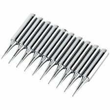 Soarup 10pcs Sharp Soldering Replacement Iron Tips For 900m T I Station Tool