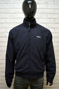 Giubbotto-Blu-Uomo-WOOLRICH-Taglia-XL-Giacca-Primaverile-Jacket-Man-Cappotto