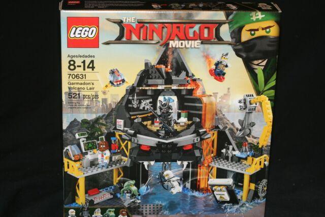 LEGO NINJAGO MOVIE 70631 GARMADON'S VOLCANO LAIR (2017) BRAND NEW SEALED