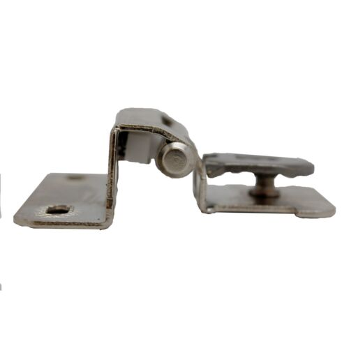 "PAIR AMEROCK Steel 1//4/"" Overlay Single Demountable Door Hinge Nickel CMR871514"