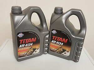 fuchs titan atf 4134 fluid fully approved to mercedes specification 8ltr ebay. Black Bedroom Furniture Sets. Home Design Ideas