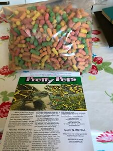 Food /treats pretty  Pets Large Tortoise Pellets  1KG Bag approximate weight