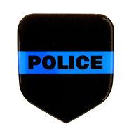 Thin Blue Line Police Emblem Will Fit Dodge Truck Grille 1994-02 Gas & Cummins