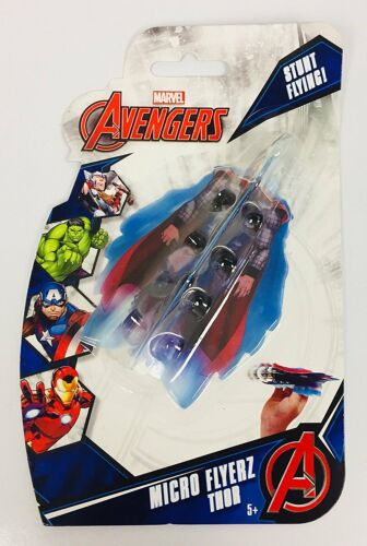Thor Marvel Avengers Stunt Flying Micro Flyerz