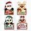 DIY Christmas Santa Metal Cutting Dies Stencil Snowman Elk Gingerbread Scrapbook