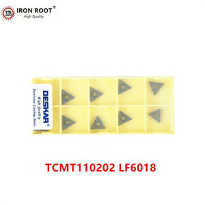 30pcs TCMT16T308 LF6018 CNC Carbide insert Turning Inserts For stainless steel