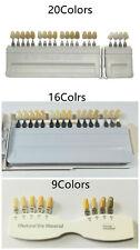 1set Dental A D Shade Guide Bleach Abutment Ivoclar 91620 Vivadent Porcelain