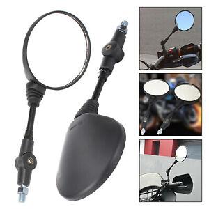 11cm-Mango-Largo-Universal-Moto-Espejo-Retrovisor-Espejo-Moto-plegable