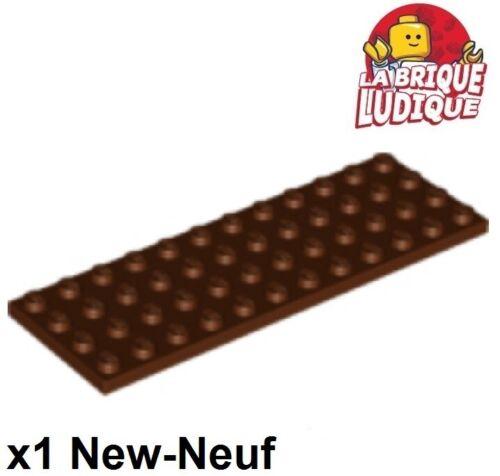 Lego 1x Plaque Plate 4x12 12x4 marron//reddish brown 3029 NEUF